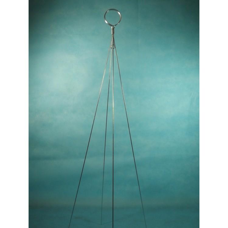 998 - Arame galvanizado importado 4 pontas - 90cm - 5 peças